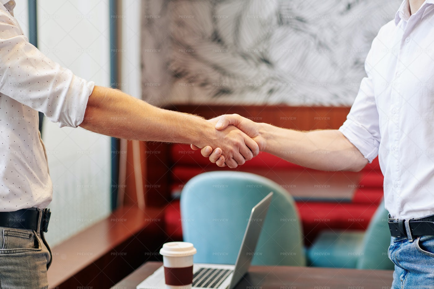 Business People Shaking Hands: Stock Photos