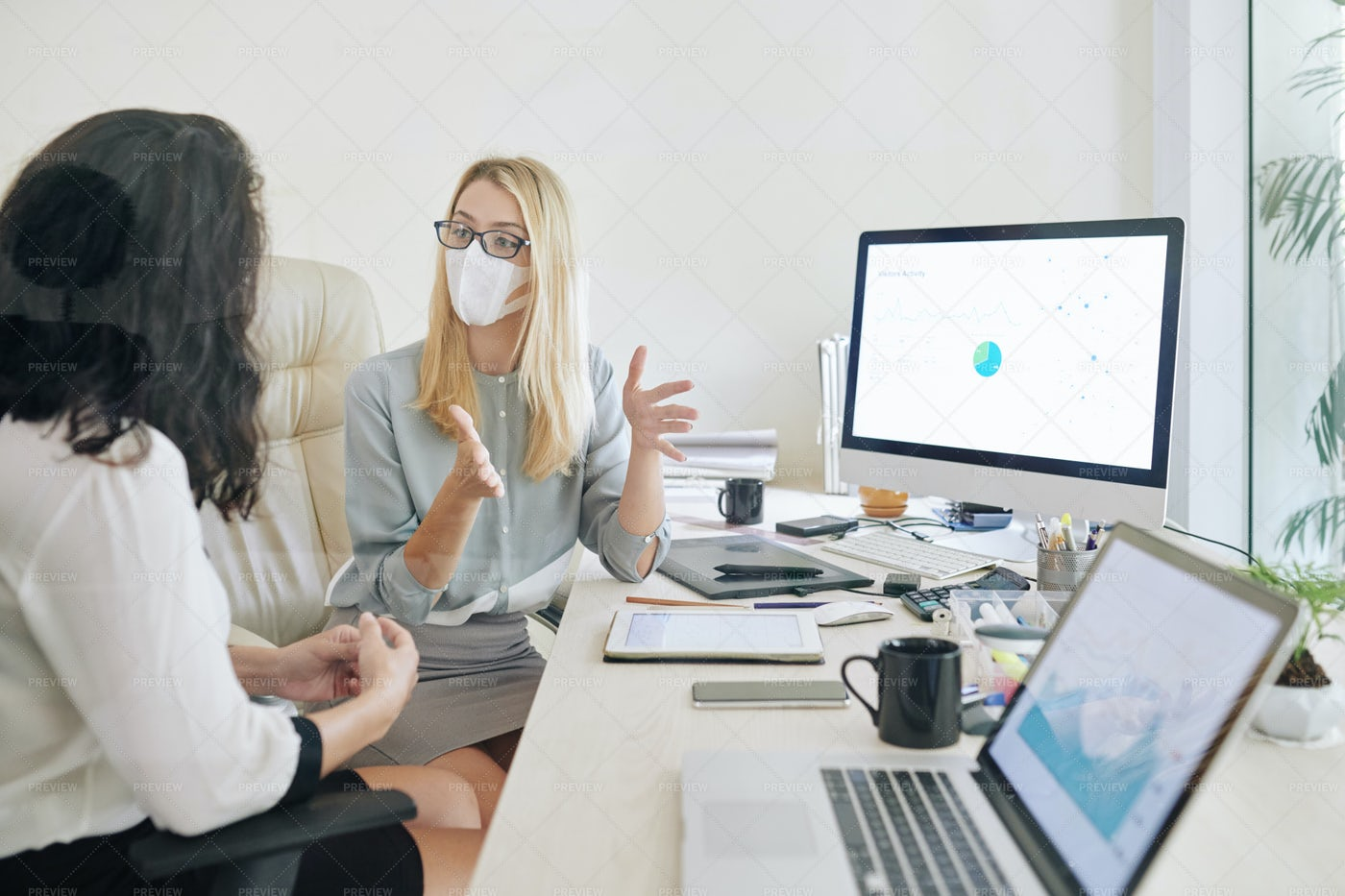 Meeting In An Office: Stock Photos