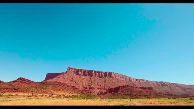 Driving Through The Utah Desert: Stock Video