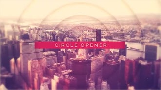 Circle Opener: After Effects Templates