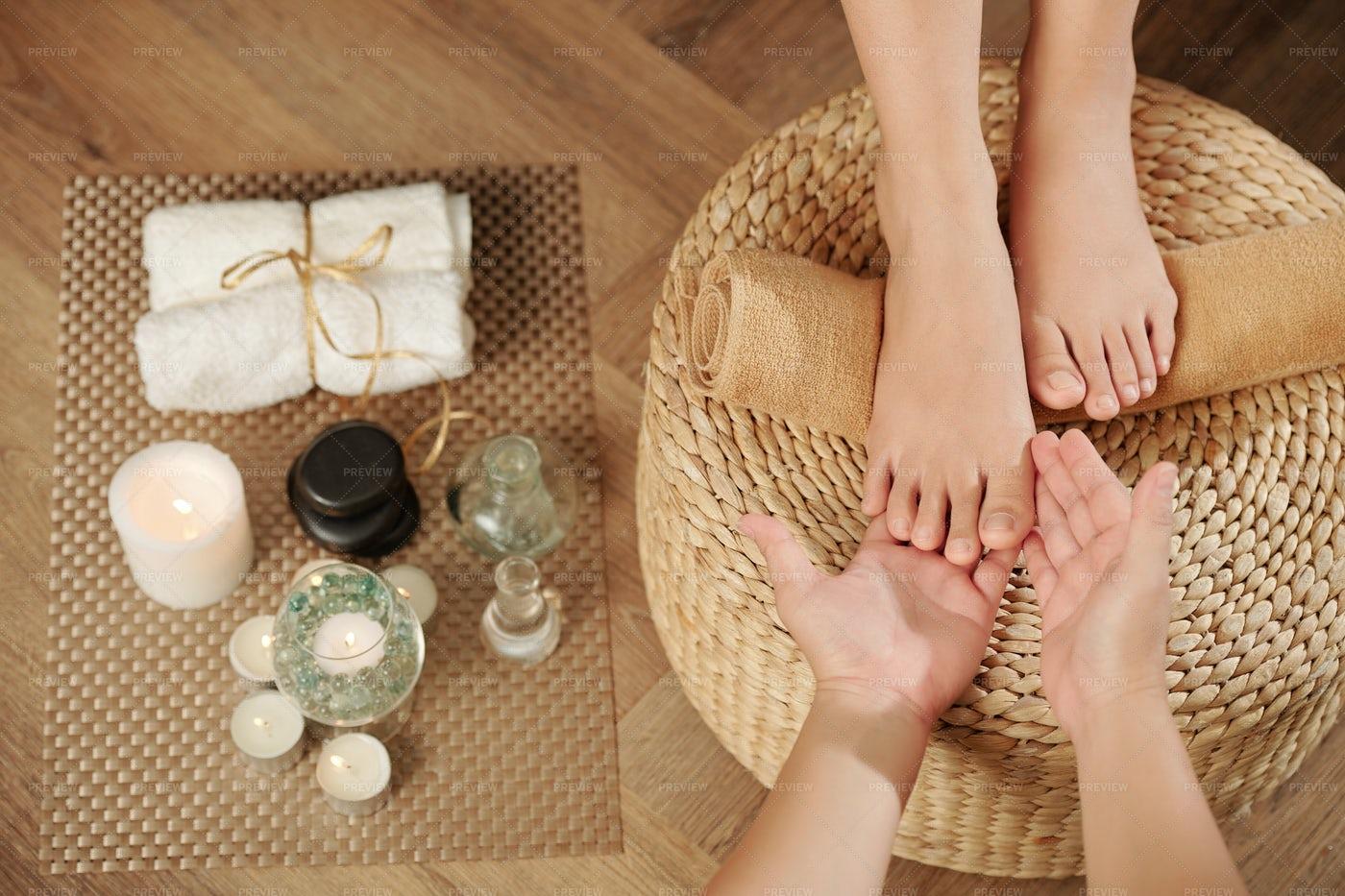 Foot Massage: Stock Photos