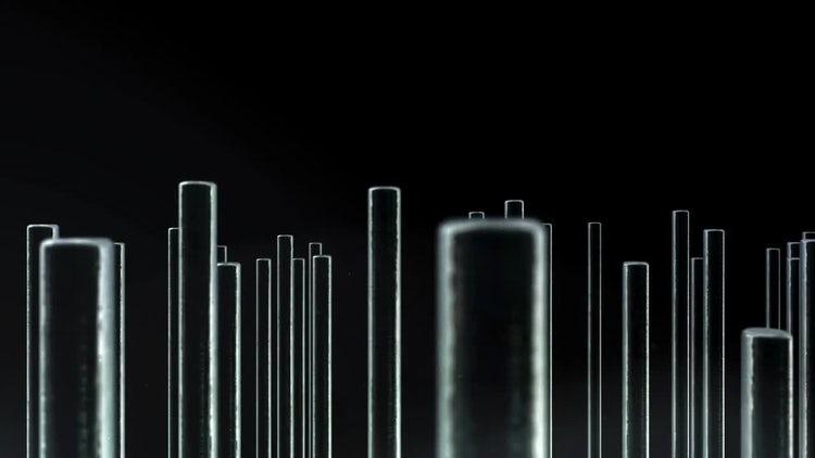 Metal Bars 04: Stock Motion Graphics