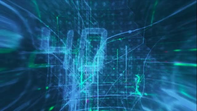 Hi-Tech Background: Stock Motion Graphics