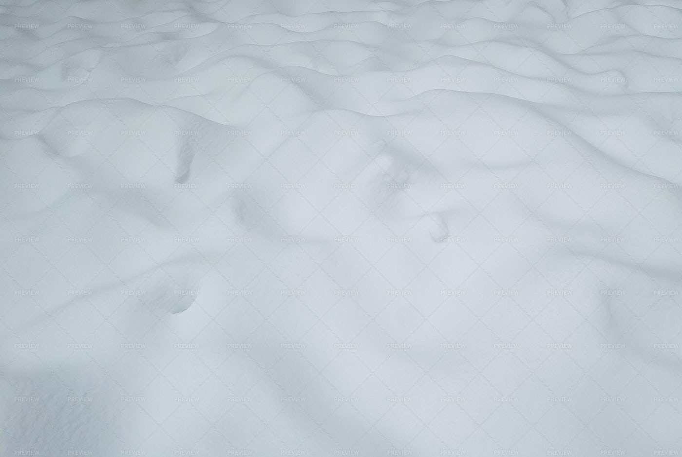 Uneven White Snow Surface: Stock Photos