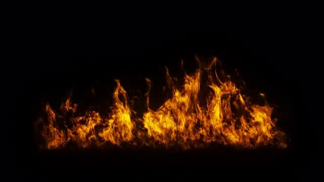 Fire Flames 02: Stock Motion Graphics