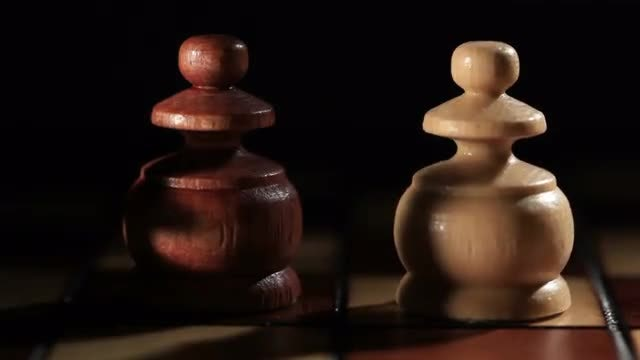 Starting A Chess Game: Stock Video