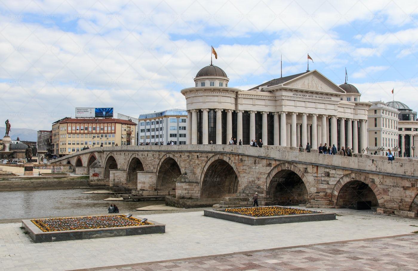 Macedonian Archaeological Museum: Stock Photos
