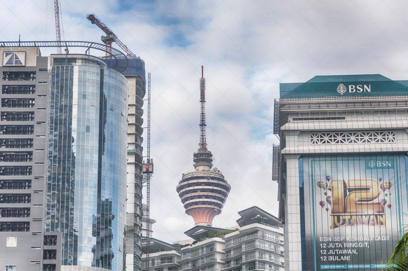 The Kuala Lumpur Tower Malaysia: Stock Photos