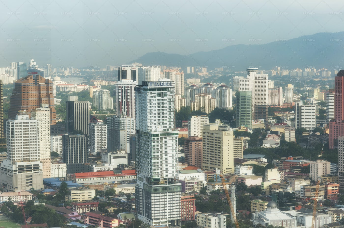 Kuala Lumpur Modern City: Stock Photos
