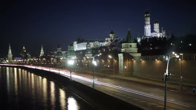 Moscow Quay: Stock Video