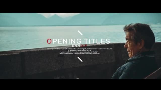 Opening Titles: After Effects Templates