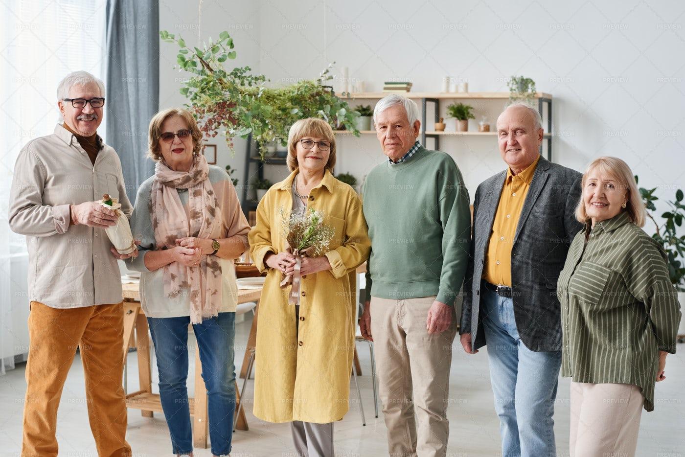 Portrait Of Senior People: Stock Photos