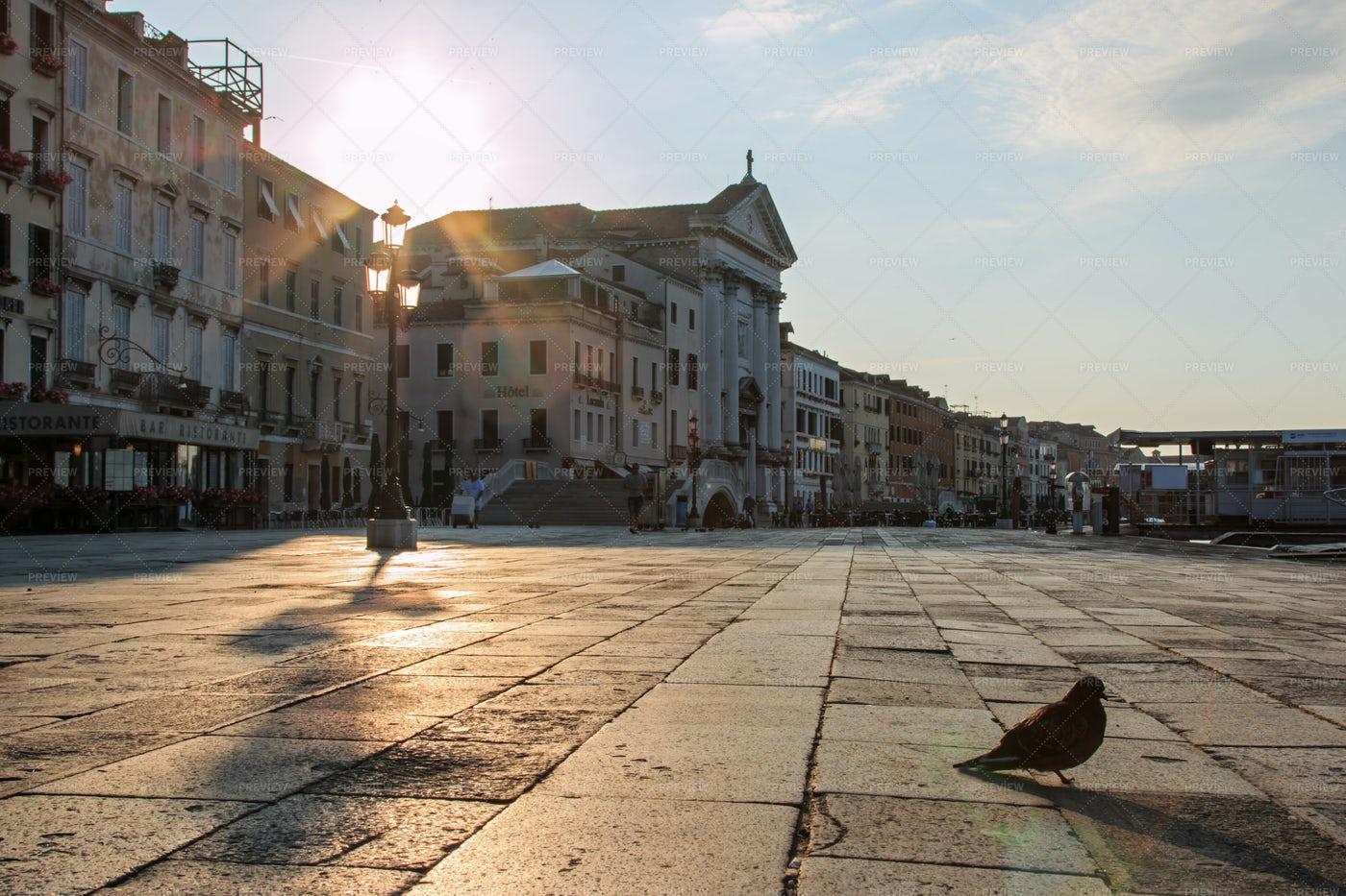 Sunrise In Venice: Stock Photos