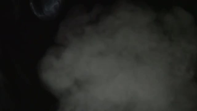 Smoke Rising In Slow Motion : Stock Video