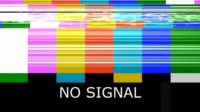 Bad TV - No Signal: Stock Motion Graphics