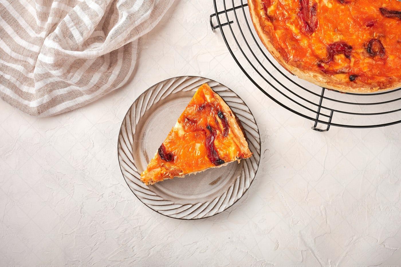 Piece Of Homemade Pie: Stock Photos