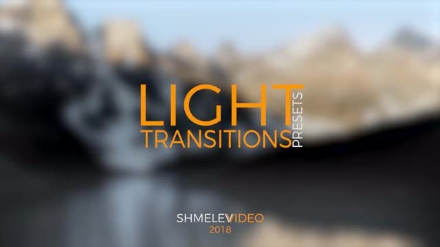 Light Transitions Presets: Premiere Pro Presets