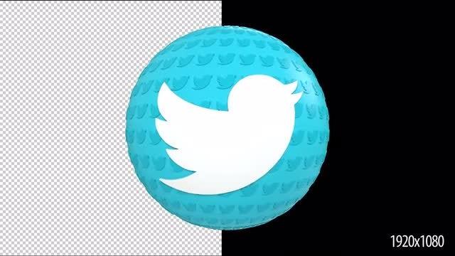 14 Social Media Logo Reveals: Stock Motion Graphics