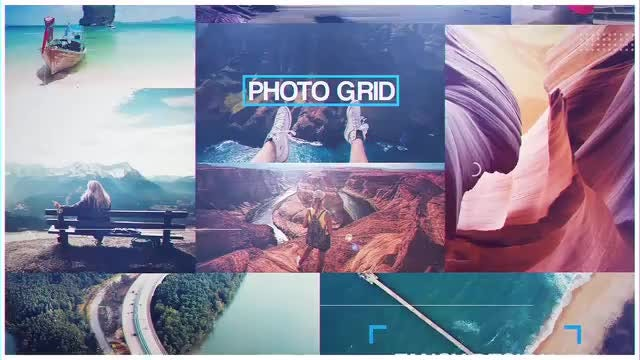 Photo Grid: After Effects Templates