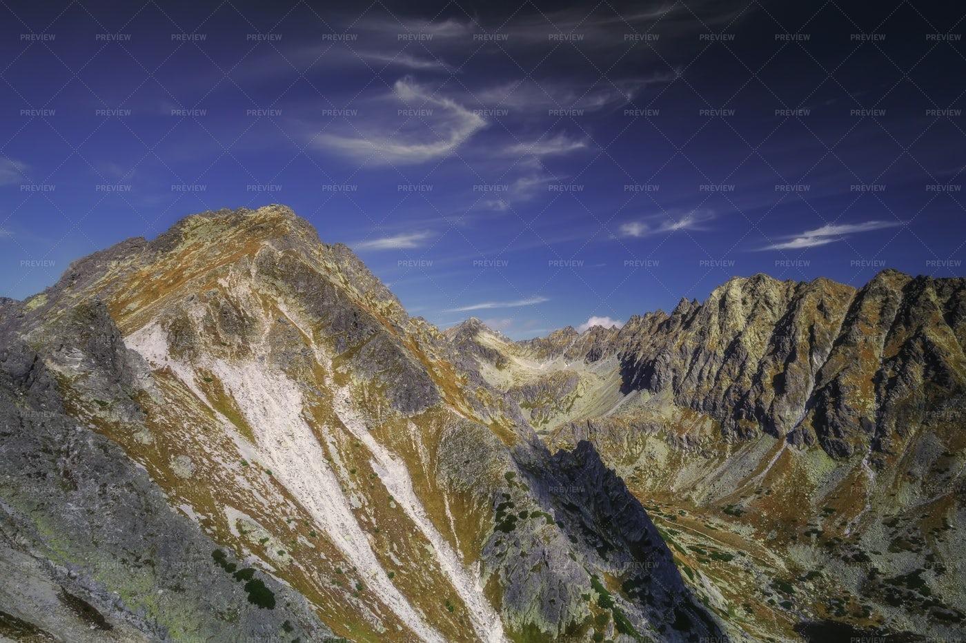 Sunny Mountains: Stock Photos