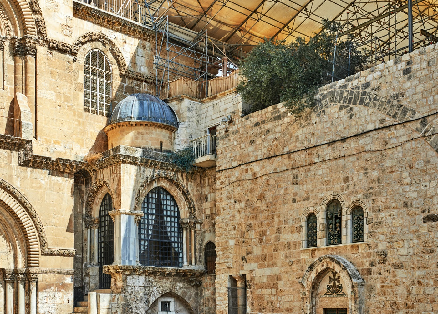 Church Of The Holy Sepulchre: Stock Photos