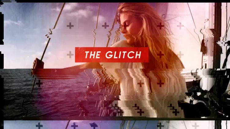 The Glitch: After Effects Templates