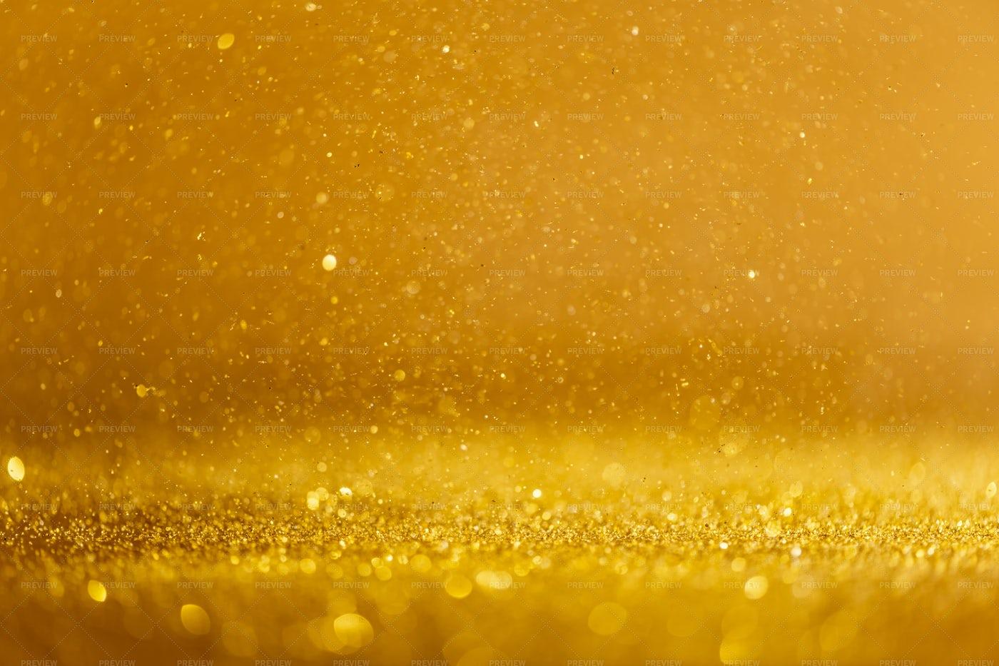 Gold Sequins: Stock Photos
