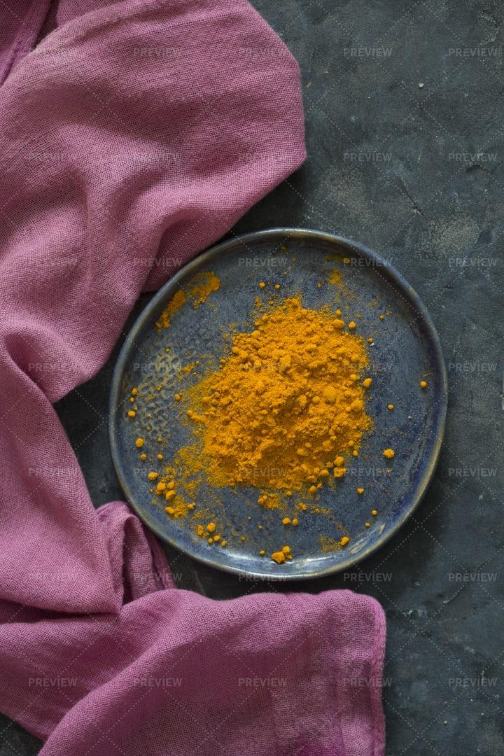 Turmeric Powder: Stock Photos