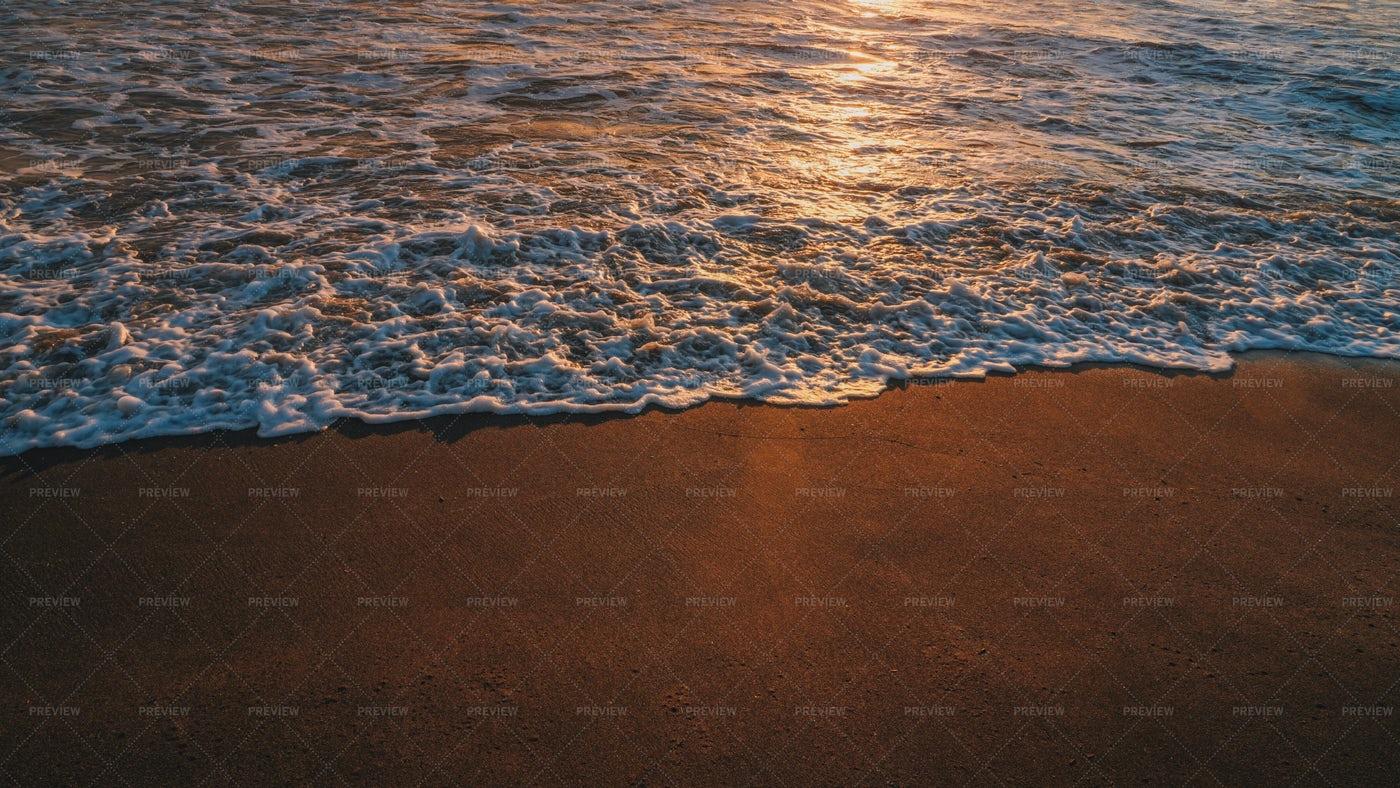 Sunset At Seaside: Stock Photos