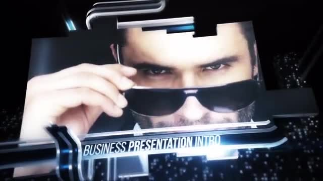 Business Slideshow Intro: After Effects Templates