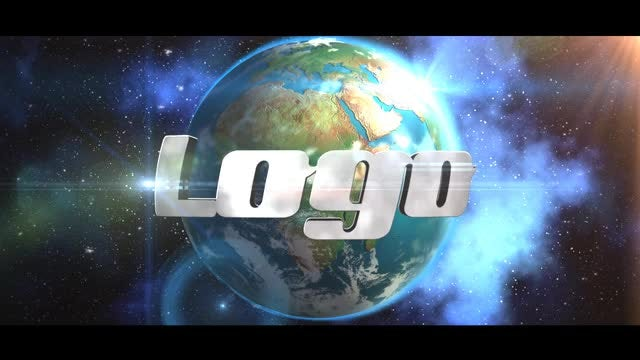 Earth Logo: After Effects Templates