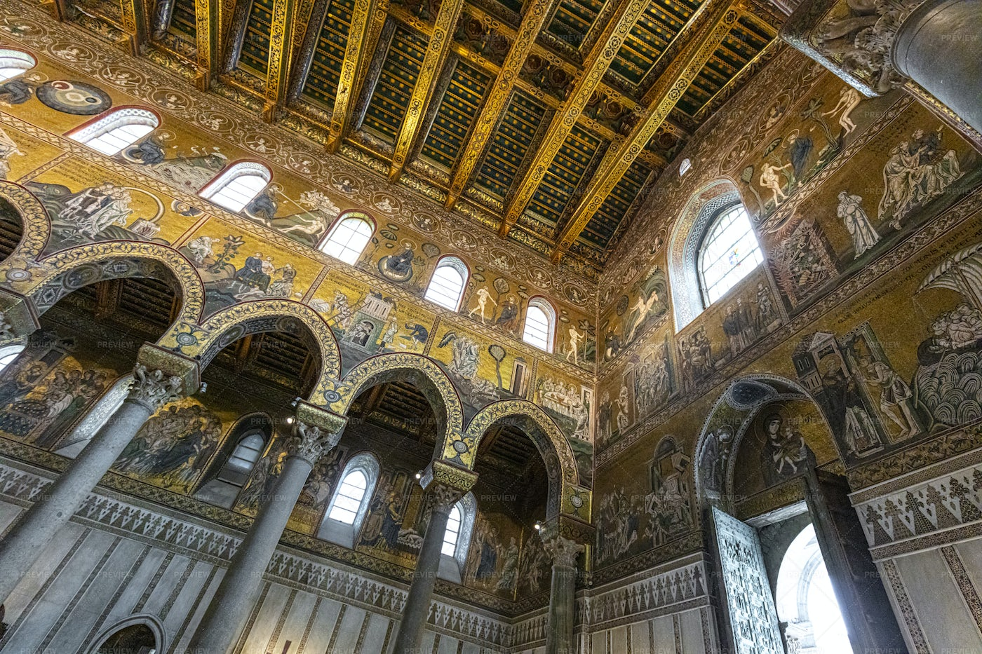 Cathedral Of Monreale: Stock Photos