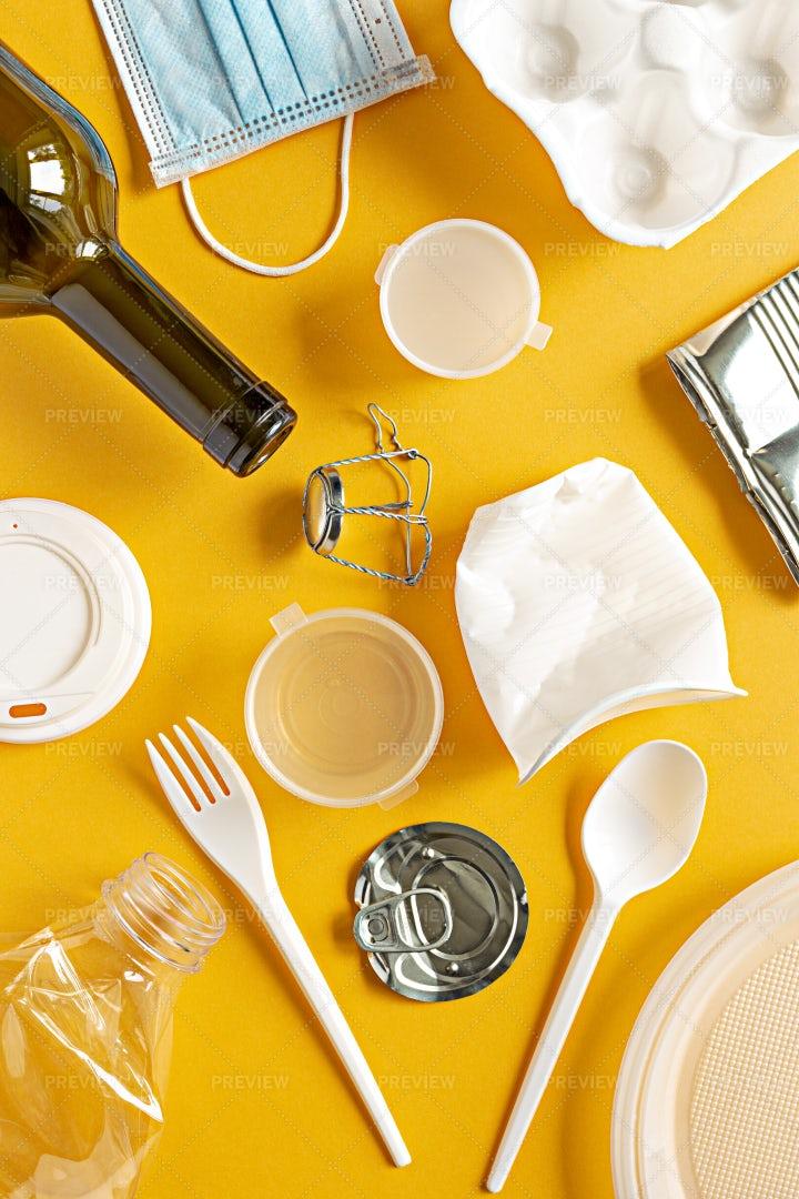 Garbage Items: Stock Photos