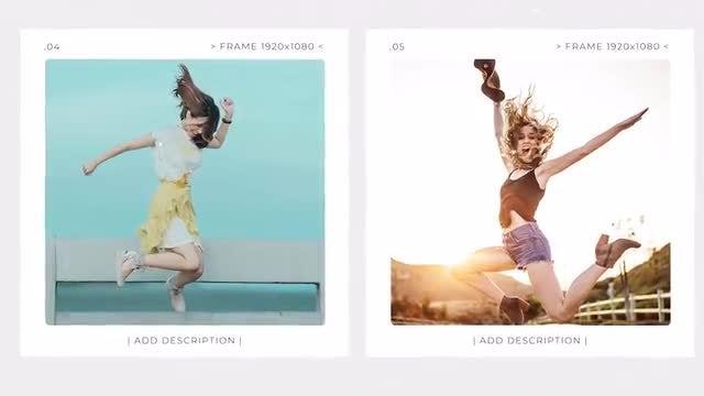 Minimal Memories Slideshow: Premiere Pro Templates
