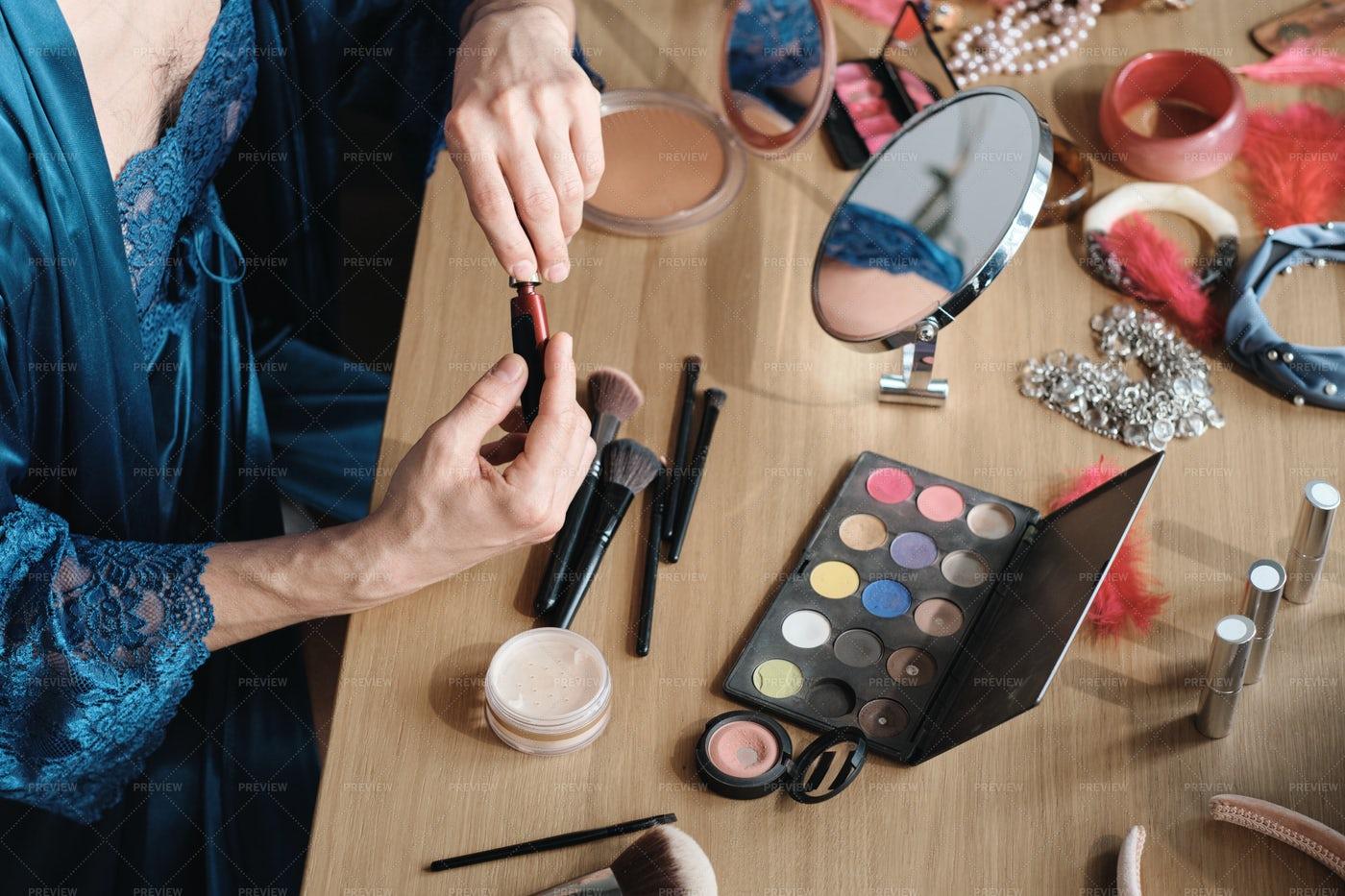 Cosmetics For Makeup: Stock Photos
