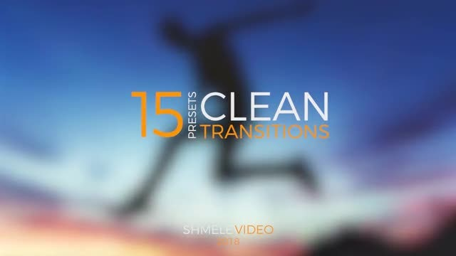 Clean Transitions Presets: Premiere Pro Presets