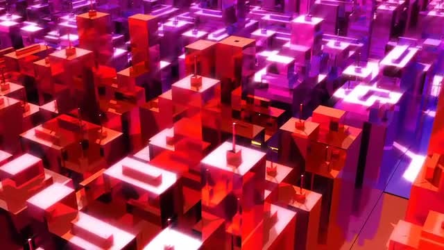 Neon City: Stock Motion Graphics