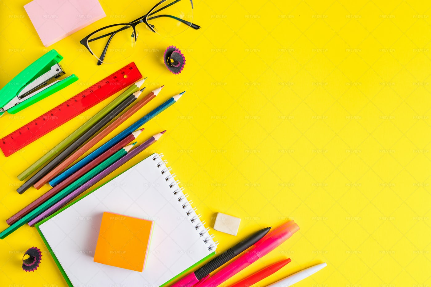 Back To School Background: Stock Photos