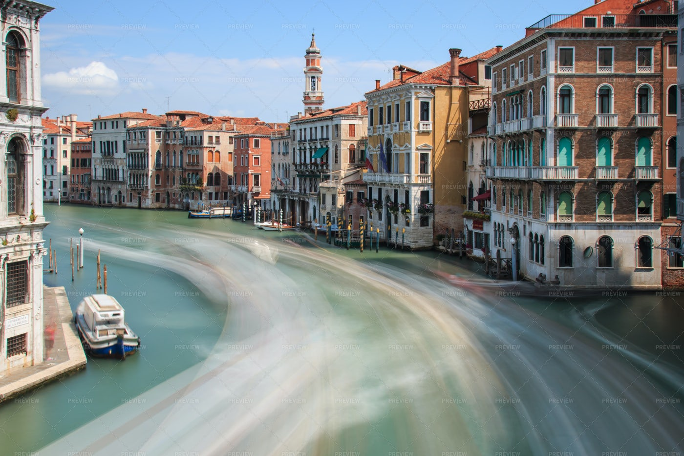 Grand Canal In Venice: Stock Photos