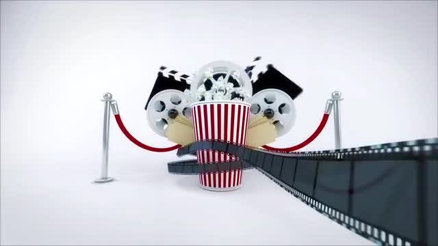 Cinema Movie Logo Reveal: After Effects Templates