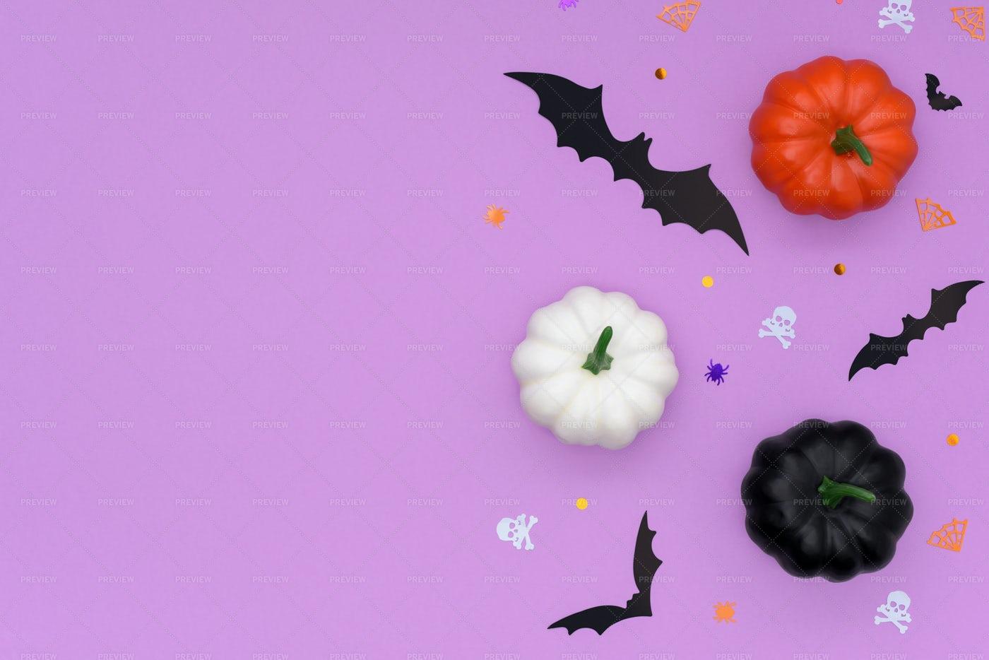 Happy Halloween Border: Stock Photos