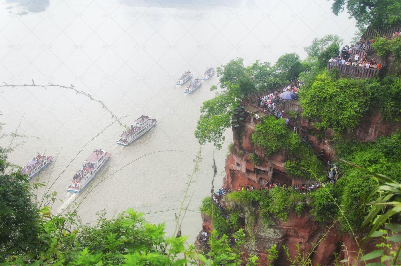 Leshan Grand Buddha Scenic Area: Stock Photos