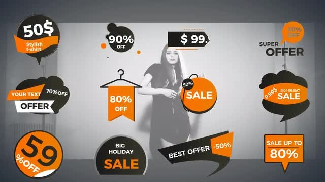 Prices Titles And Tags: Motion Graphics Templates