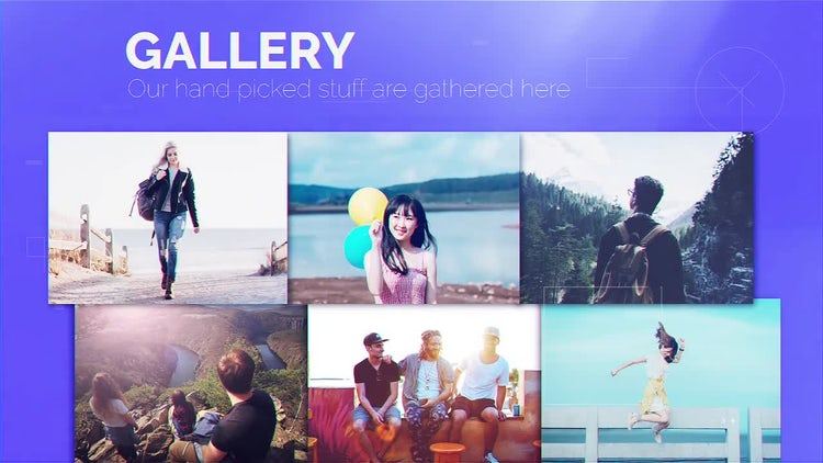 Minimal Portfolio Display: After Effects Templates
