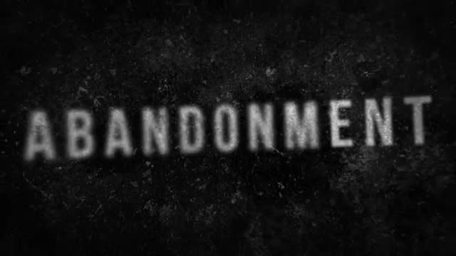 Abandonment Presentation: After Effects Templates