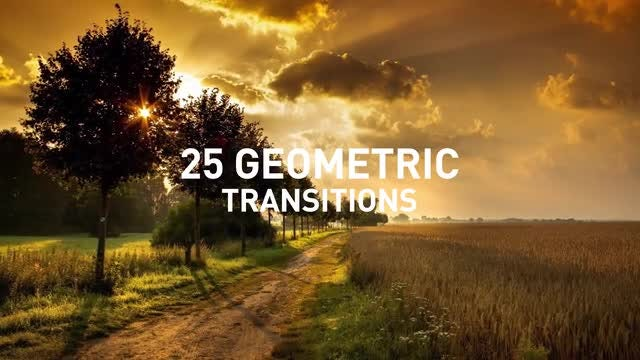 Geometric Transition Pack: After Effects Templates