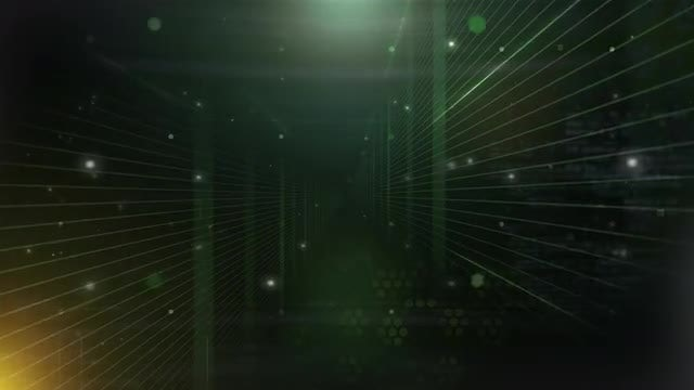 Digital Technology Tunnel: Stock Motion Graphics