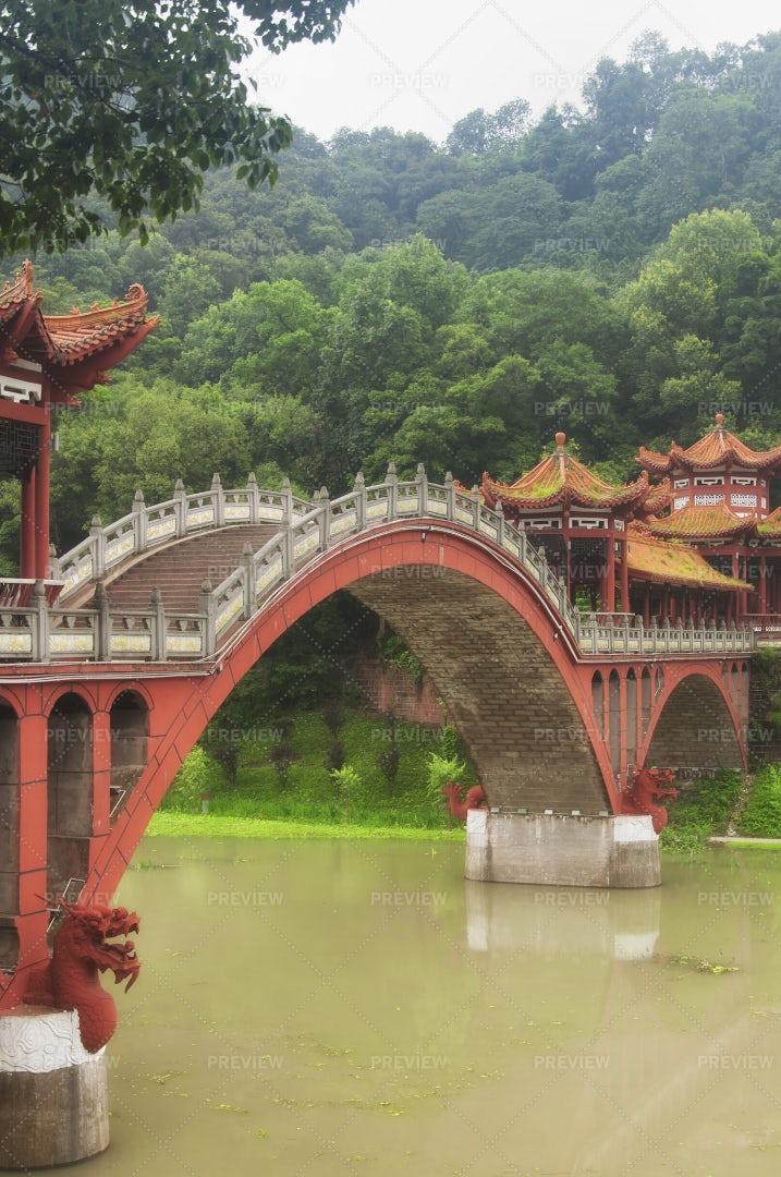 Haoshang Bridge: Stock Photos