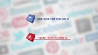 Social Media Lower Thirds: Motion Graphics