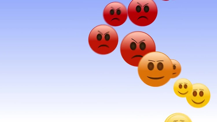 Angry Emojis: Stock Motion Graphics